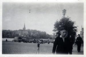 Sprzęt wojskowy w Olecku.
