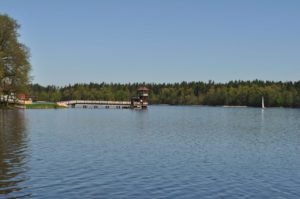 Miejskie kąpielisko nad jeziorem Olecko Wielkie