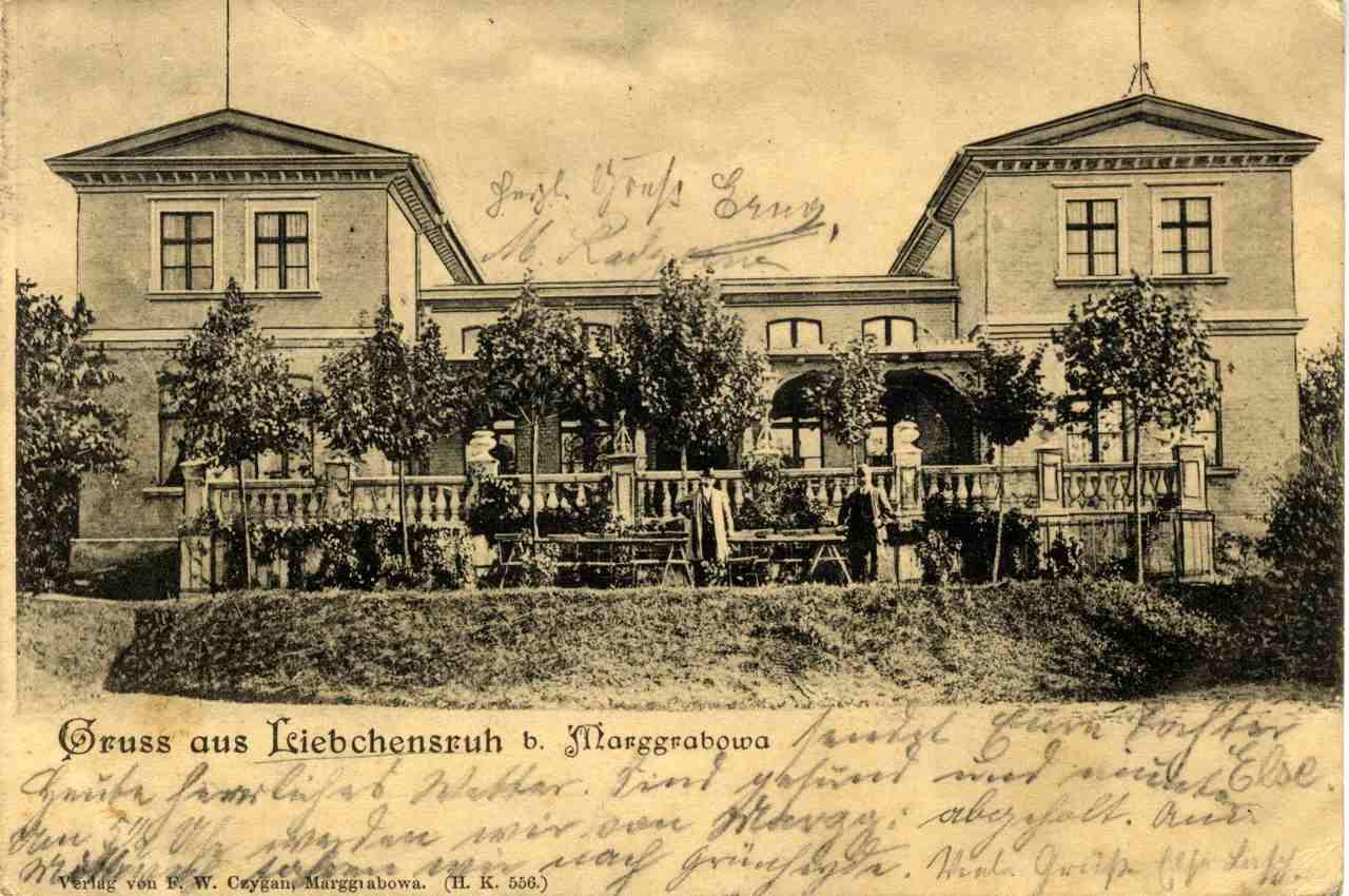 "Dom zdrojowy ""Liebchensruh""."