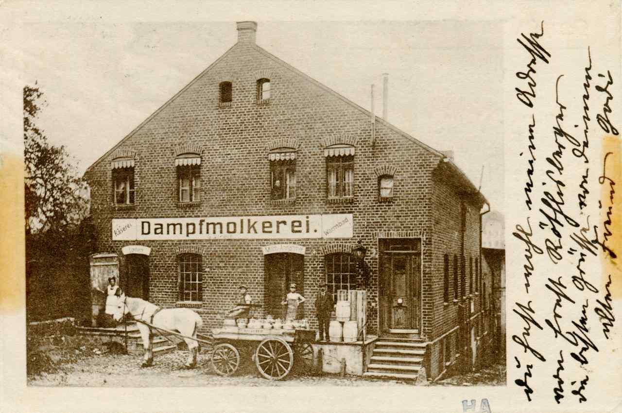 Mleczarnia parowa w Olecku.
