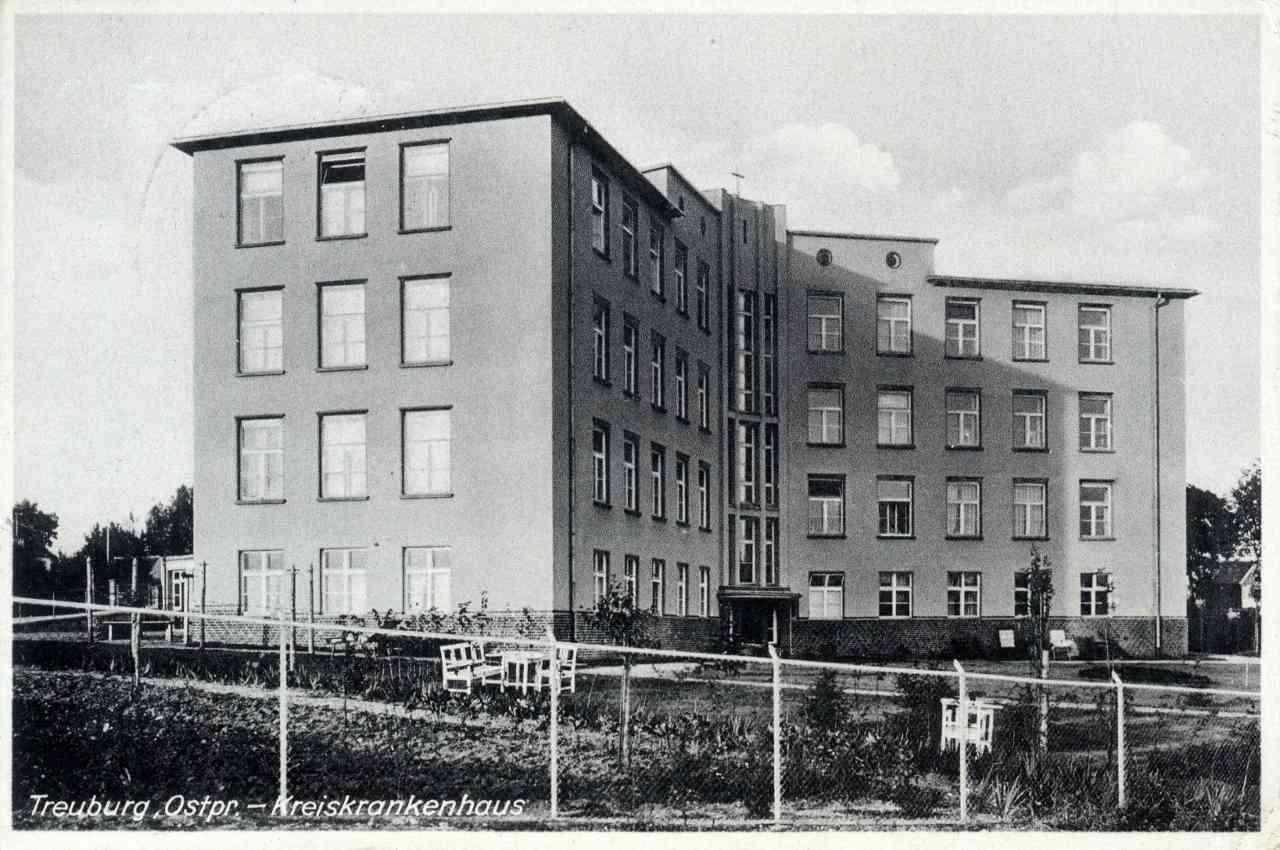 Budynek nowego szpitala.