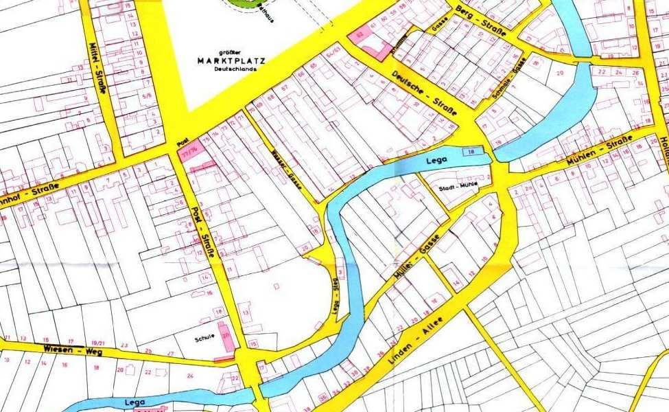 Niedzielna zagadka. Fragment planu miasta.