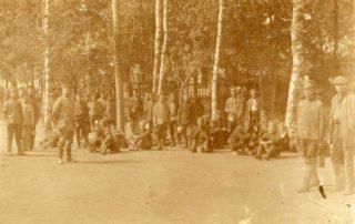 Obóz jeniecki w Olecku.