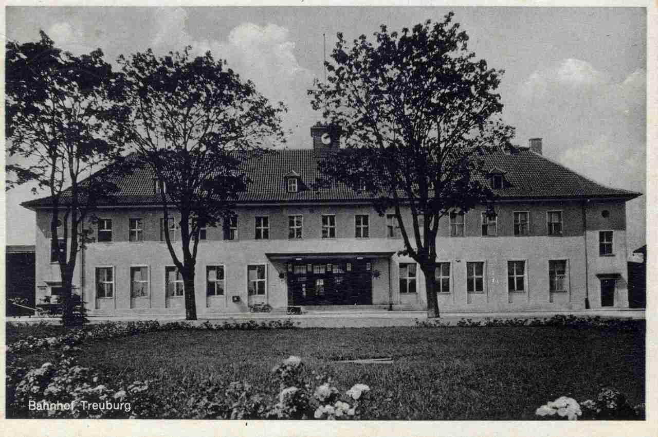 Dworzec kolejowy.