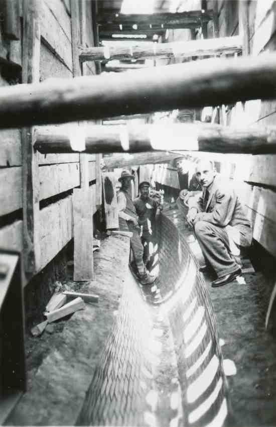 Wilno, budowa kanału IV klasy.