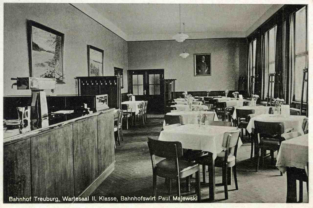Dworcowa restauracja.
