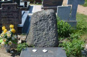 Kamień z nazwiskiem Gabriel Pfaff.