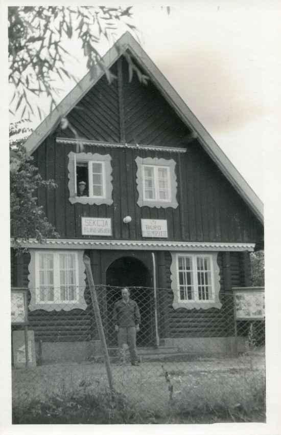 Chata Mazurska po wojnie.