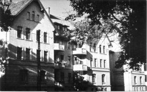 Budynki mieszkalne pracowników starostwa powiatowego.