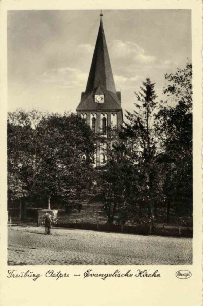 Kościół ewangelicki.