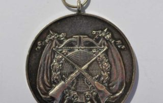 Odznaka za osiągnięcia strzeleckie.