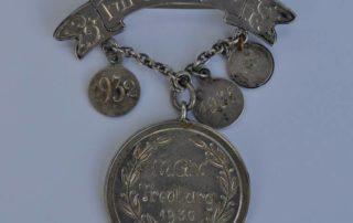 Medal dla najlepszego śpiewaka.