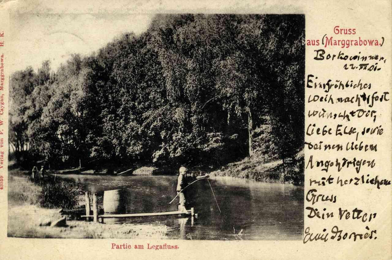 Na ryby nad Legę.