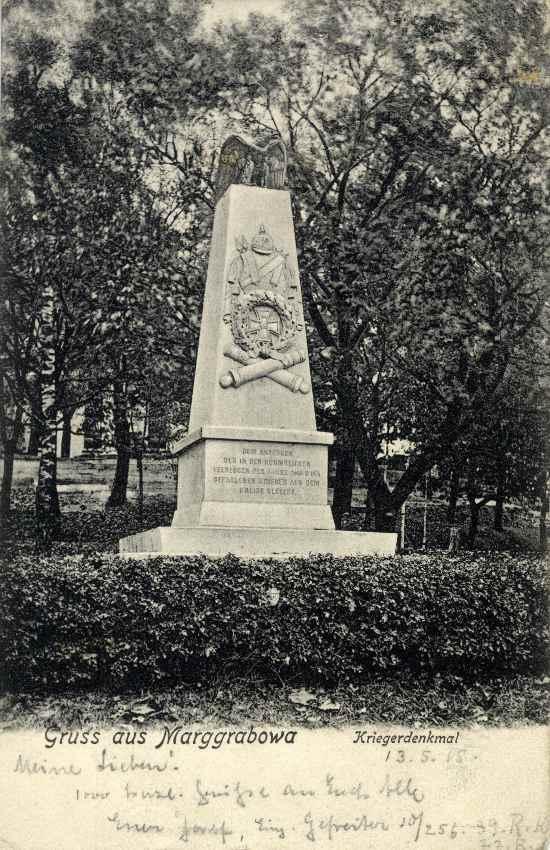Pomnik wojenny.